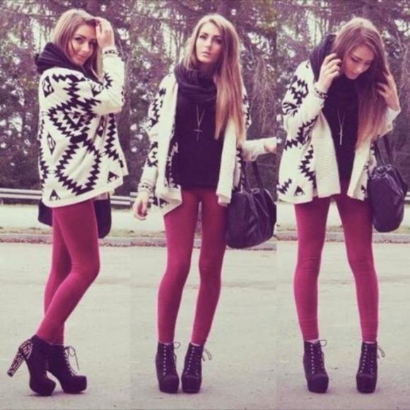 aa5c4d1bbfc3b American Apparel Pants | High Waist Velvet Legging Pink | Poshmark